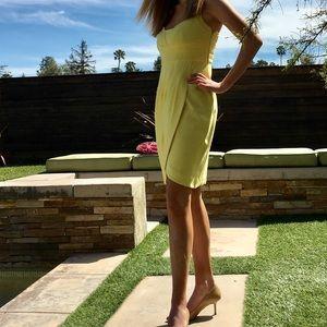 Lemon yellow Cynthia Steffe Dress